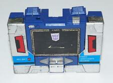 Soundwave Vintage Hasbro 1985 G1 Transformers Action Figure NO HEAD