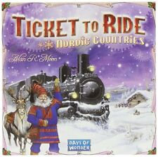 Ticket To Ride: Nordic Countries , New, Free Shipping