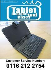 Usb Negro Teclado De Cuero Pu llevar case/stand Para Google Nexus 7 Tablet Android