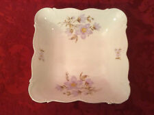 """Edelstein Bavaria Maria Theresia Windfield 8 1/2"""" Square Serving Bowl - Lovely!"""