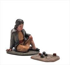 Figura Belen J.L.MayoSerie 11 cms. Niño con juego BEL091
