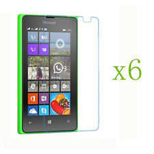 6 x New Clear Screen Protector Protective Film for Microsoft Nokia Lumia 435 532