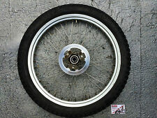 "SHERCO TRIALS 21"" FRONT WHEEL WITH DISC & TYRE"