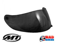 New Dark Smoked Visor for the MT Blade SV Boss Motorcycle Crash Helmet.