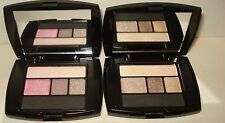 2 LANCOME Color Design Eye Brightening All In One-210 Flushed S &110 Chocolat