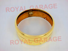 NEW ROYAL BIKES BRASS CLASSIC C5 HEADLIGHT RIM RING INNER OUTER COMPLETE 245