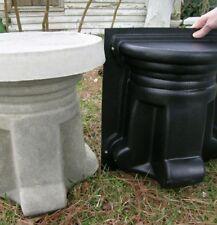 Concrete Cement Mold Pedestal / Bench Leg**1 Mold