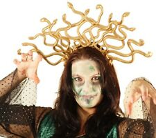 Halloween-scary-evil-gold DUSA HEADDRESS taglia unica