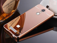 New Aluminum Metal Frame Bumper +PC Mirror Back Case Cover For Xiaomi Phone S001