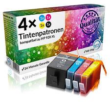 4 mit Chip für HP 920 XL Officejet 6000 6000W 6500 6500A Plus 6500W 7000 7500A