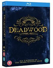 Deadwood Complete Series Seasons 1 2 3 1-3 Ultimate Collection Bluray boxset NEW
