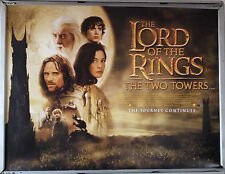 Cinema Poster: LORD OF THE RINGS TWO TOWERS 2002 (Main Quad) Elijah Wood