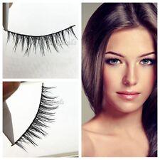 Real Visón Natural Falsas Pestañas Pestañas Postizas Maquillaje Extensión Ojos