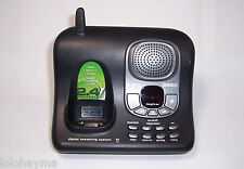 1 uniden exai4248 2.4 ghz cordless phone main base with answering machine