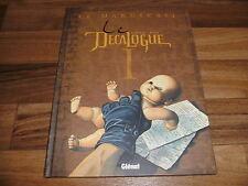 Giroud/Behe -- DECALOGUE  # 1 / le Manuscrit / Hardcover von Glenat 2001