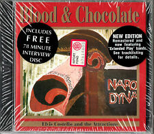 ELVIS COSTELLO blood & chocolate CD w/bonus CD EP 1995 FACTORY SEALED OOP