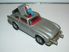 VINTAGE CORGI TOYS 270 JAMES BOND 'NEW' ASTON MARTIN DB5 1960s METTOY ENGLAND