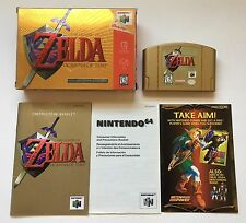 N64 The Legend of Zelda: Ocarina of Time Collectors Edition Complete CIB #4/4