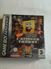 SPONGEBOB L'ATTACK OF TOYBOT - GBA NEW SEALED - GAME BOY - GAMEBOY