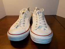2000's White Canvas Low Coverse Men's Size 14 FREE SHIPPING (used)
