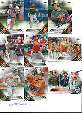 2016 Topps 1 Baltimore Orioles Team Set Manny Machado Adam Jones Chris Davis 16