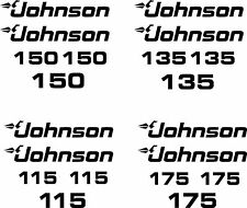 johnson 115 135 150 175 outboard decal stickers made in the USA