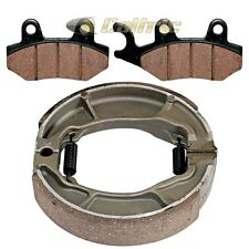 FRONT BRAKE PADS & REAR BRAKE SHOES Fits Honda CMX250C CMX250X Rebel 2005-2016