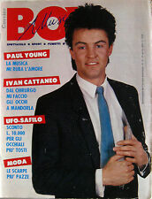 BOY MUSIC 16 1984 Paul Young Ivan Cattaneo Righeira John Cougar Harrison Ford