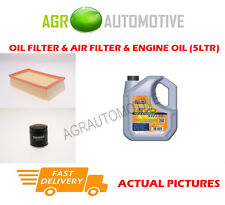 PETROL OIL AIR FILTER KIT + LL 5W30 OIL FOR RENAULT CLIO 1.2 103 BHP 2010-14