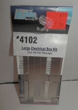 BLMA HO Scale Large Electrical Box #4102 NIP