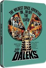 Dr Who and the Daleks - Zavvi Exclusive Limited Edition Steelbook Blu-ray SEALED