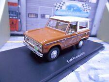 FORD Bronco 4x4 Geländewagen SUV MKI 1970 braun Resin BOS 1:43