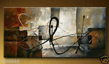 "Huge Modern Abstract Art Hand-painted Oil Painting Canvas Decor ""No frame"""