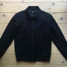 APC Simple & Timeless Wool Harrington Jacket / Coat / Navy / Size Small / S