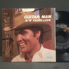 Elvis Presley - Guitar Man / Faded Love NEW NM Unplayed Store Stock! w/ PS