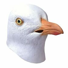 Adult Full Overhead Rubber Seagull Beach Bird Fancy Dress Costume Halloween Mask