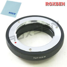 Roxsen Olympus PEN F mount lens To Canon EOS M EF-M mount Mirrorless Adapter
