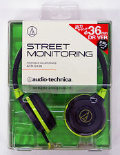 Audio-Technica ATH-S100-BGR Portable Headphone JTK