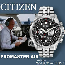 *NEW* Citizen Eco-Drive Promaster Pilot World Time Chrono ANA-DIGI Perpetual