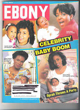 """EBONY Magazine June 1993 ~ Cover Page """"Celebrity Baby Boom"""" ~ See Contents Page"""