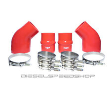 2000 DODGE Cummins® INTERCOOLER BOOT KIT BRIGHT RED SILICONE KIT & CLAMPS