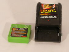 Fast Charger with battery 12.8V Li-Ion New Bright Per Wolf and Scorpion