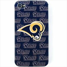 Official NFL Phone Cover for Apple iPhone 4 S 4S 4G Case St Louis Rams Saint