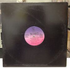 "NM 12""~KIKO~Anything For Love ~[Club Mix 6:41/Percapella 4:14/Dub 3:46]~Italo'89"