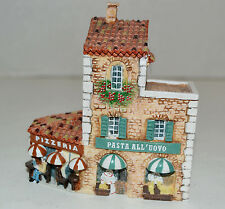 J Carlton by Dominique Gault Pizzeria Pasta French Miniature Hand Painted
