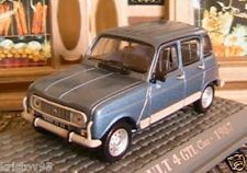 RENAULT 4 CLAN GTL DE 1987 UNIVERSAL HOBBIES 1/43 BLEU M6 INTERACTIONS