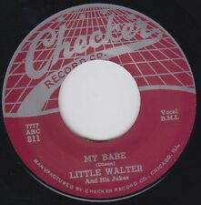 LITTLE WALTER My Babe CHECKER Re.45 7 Stone-Killer 1955 R&B Classic 2 sider HEAR