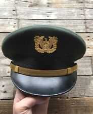 US POST WWII FLIGHT ACE ARMY WARRANT OFFICER HAT MILITARY VISOR CAP