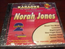 CHARTBUSTER 6+6 KARAOKE DISC 40321 NORAH JONES VOL 2 CD+G POP MULTIPLEX SEALED