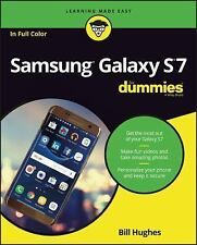Samsung Galaxy S7 for Dummies by Bill Hughes (2016, Paperback)